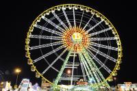 Riesenrad at night