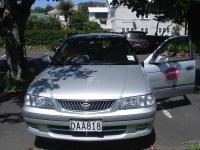Nissan Sunny von vorne