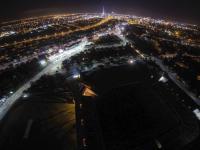Auckland @ night - aufgenommen aus der Luft