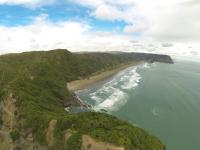 Piha North & South in weiter ferne