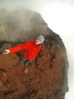 Selfie aufm Krater