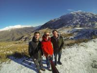 Roys Peak mit Johnny & Mat