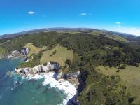 Bucht in Hahei - Luftaufnahme VI
