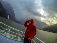 Ganz schön windig auf der Jucy Cruise