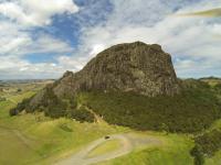 Maungaraho Rock aus der Luft
