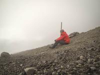 Mt Taranaki - steil und in Wolken