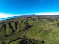 Golden Bay Lookout - aus der Luft