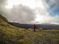 Mt Taranaki - auf dem Abstieg