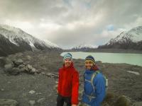 Tasman Gletscher Selfie