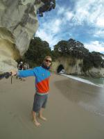 Ich war am Cathedral Cove