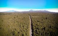 Blick auf Mt. Doom & Mt. Ruapehu