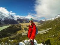 Sealy Tarns Track Selfie