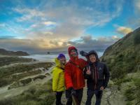 Michelle, Cyrille & ich
