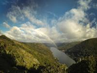 Ausblick auf Cobb Reservoir