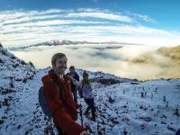 Isthmus Peak mit Chuchu & Ludo