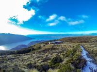 Eisiger Kepler Track & die Hütte: Luxmore Hut