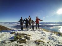 Isthmus Peak - Ludo, Sarah, Sinjo, Chuchu & ich