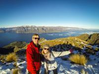 Isthmus Peak - Chuchu & ich Selfie