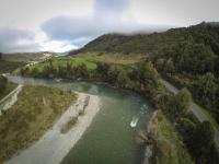 Brunner Gorge - Luftaufnahme