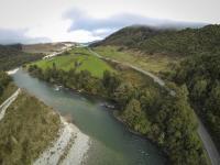 Brunner Gorge - Luftaufnahme II