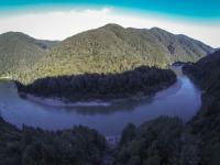Brunner Gorge - Luftaufnahme V