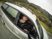 Greymouth - Car selfie
