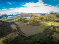 Luftaufnahme: Lake Wanaka