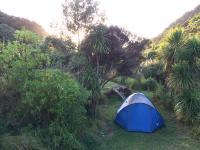 Eine Nacht im Zelt