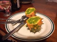 Komische Frucht - schmeckt nach Gurke