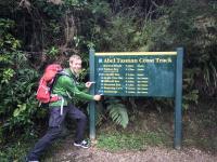 Abel Tasman - Wanderung geschafft!