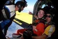 Fallschirmsprung: gleich gehts raus