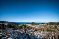 Schnee am Takaka Hill