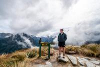 Jessie & der Kea: Mackinnon Pass