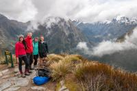 Unsere Milford Track Truppe