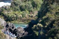 Aratiatia Rapids bei niedrigem Level