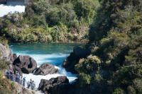 Aratiatia Rapids bei hohem Level