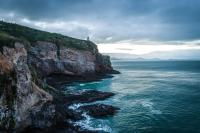 Leuchtturm am Ende der Otago Peninsula