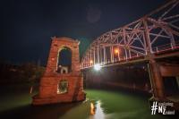 Alexandra Brücke bei Nacht II