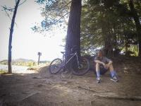 Mountainbiking in den Redwoods